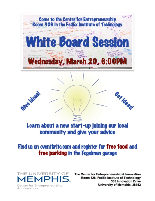 Join our White Board Session this Wednesday!